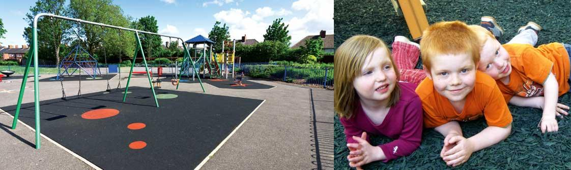 Bonded Rubber for Play Areas