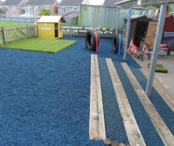 Rubber Chippings for Play Areas