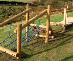 Trim trails for schools and playgrounds