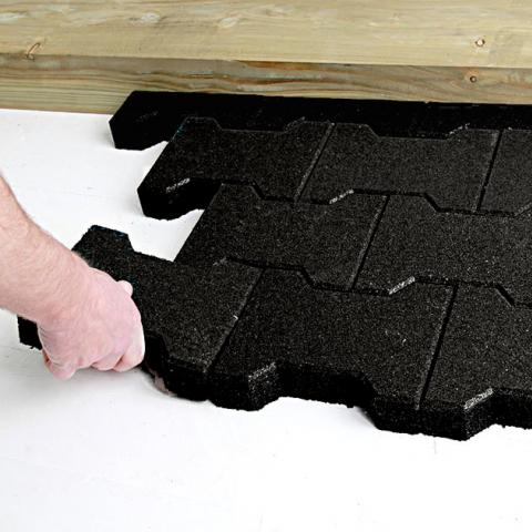 Rubber Play Pavers