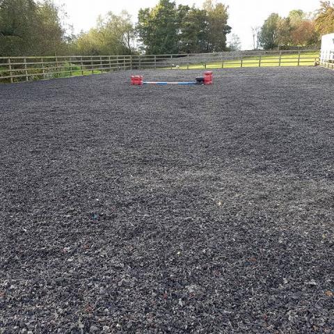 Equestrian Rubber insitu