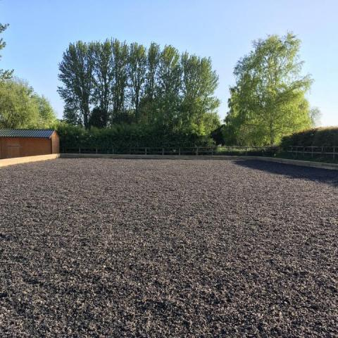 Equestrian Rubber Surfaces after