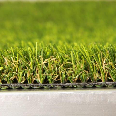 Side View Close-up of Finesse Artificial Grass