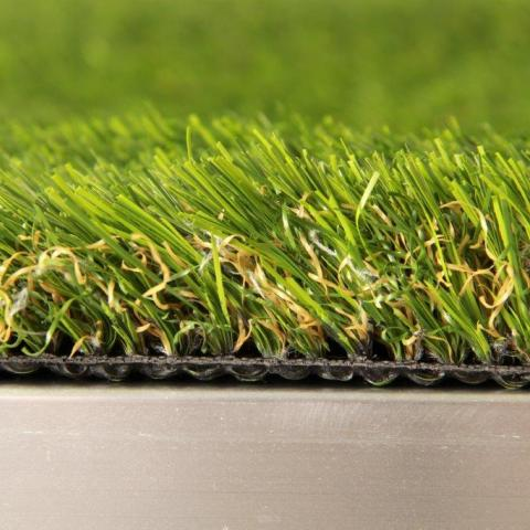 Side View Close-up of Finesse Deluxe Artificial Grass