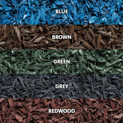 Rubber Mini Mulch Colour Swatch