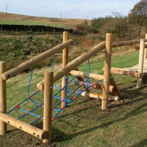 Net Climb - fun on its own or as part of a adventure trail