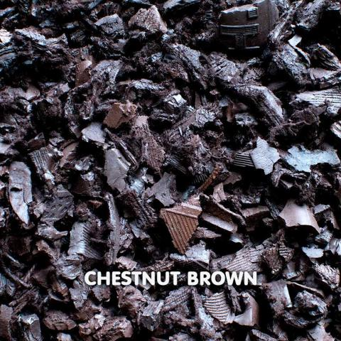 Rubber Chippings Chestnut Brown