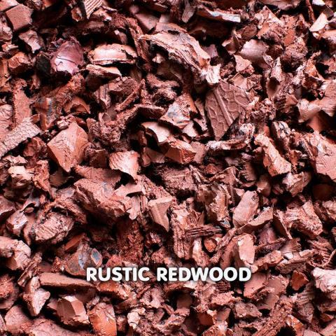 Rubber Chippings Rustic Redwood