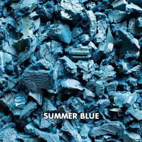 Rubber Chippings Summer Blue