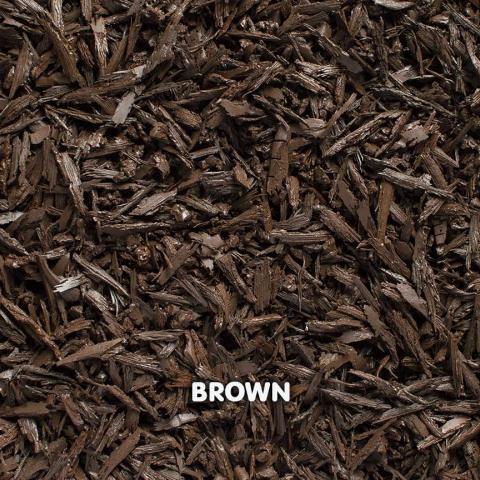 Rubber Mini Mulch Brown