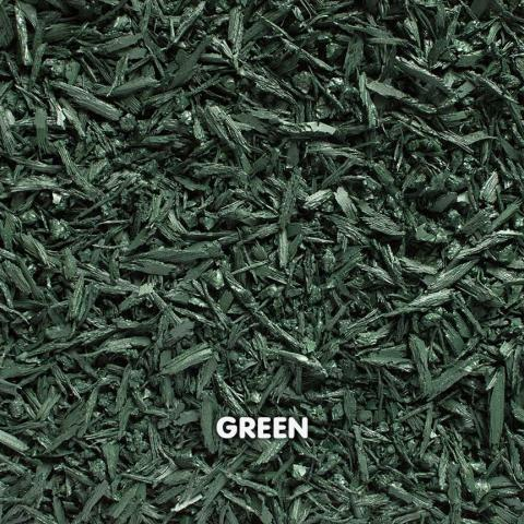 Rubber Mini Mulch Green