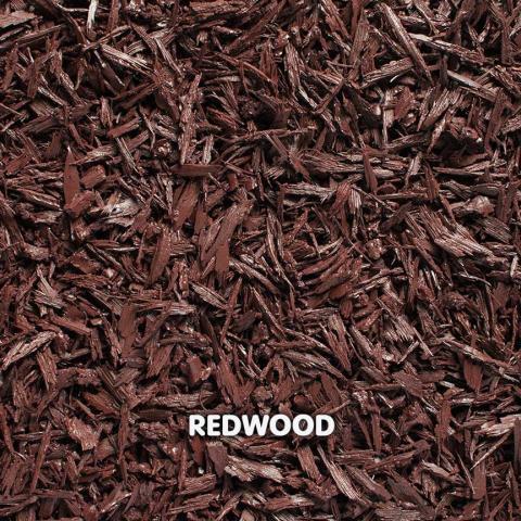 Rubber Mini Mulch Redwood