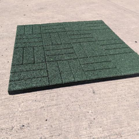 Rubber Mat Green
