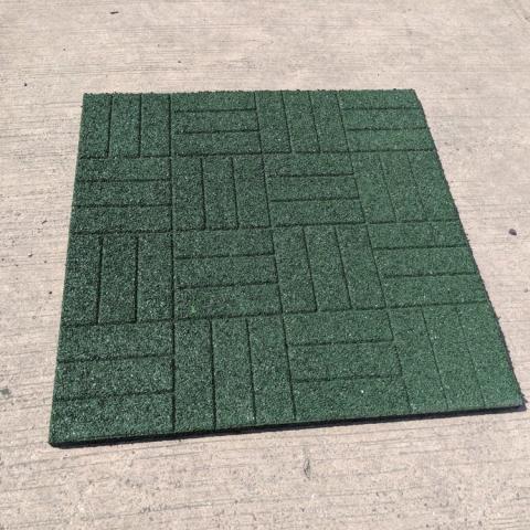 Rubber Mat Green 2