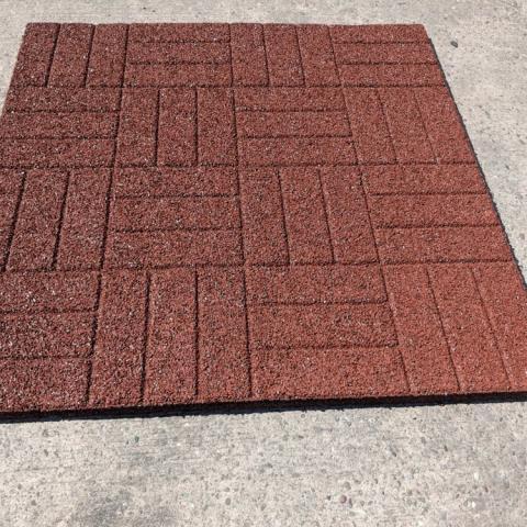 Rubber Mat Red 2