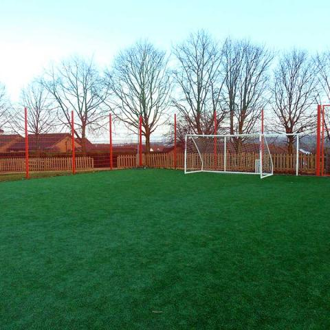 An artificial grass football pitch makes a great all-weather surface