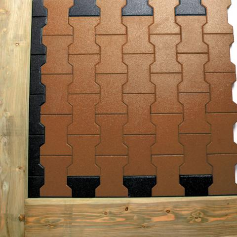 Side and End Tiles in situ
