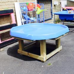 Activity Table with Tray