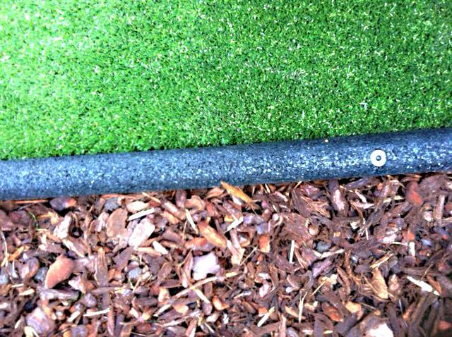Rubber Border Edging | For Lawns, Beds & Play Areas | Flexible