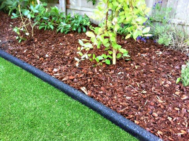 Nice Rubber Border Edging For Lawns Beds Play Areas Flexible
