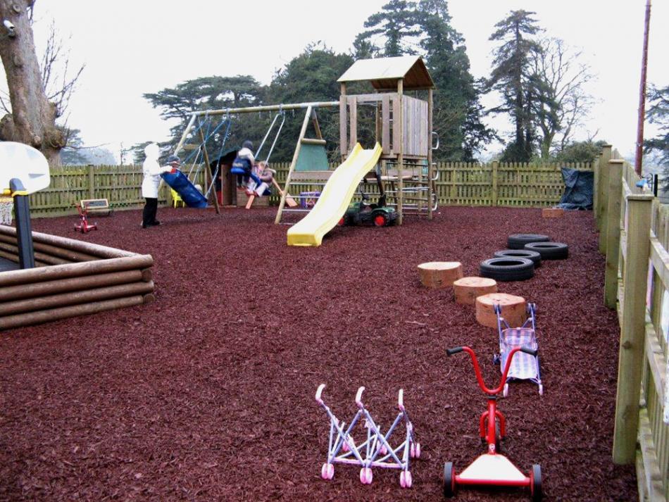Rubber Mini Mulch Rubber Mulch For Play Areas