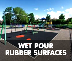 Wet Pour Rubber Surfacing